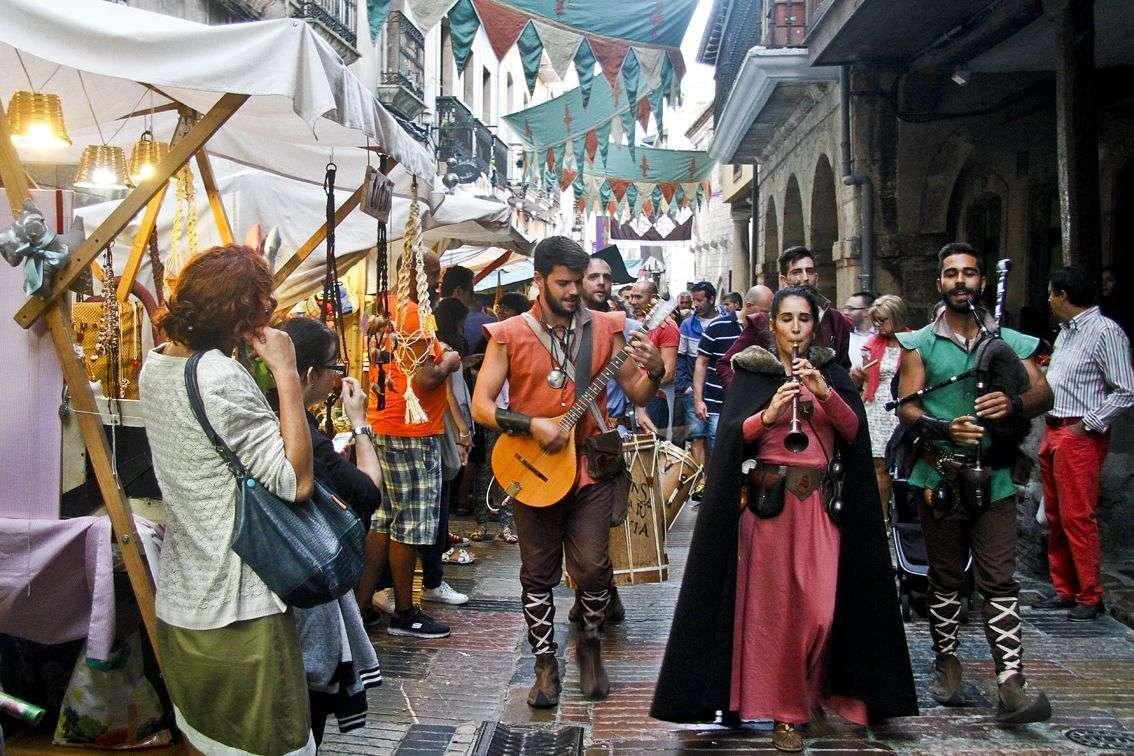 Mercado Medieval Fiestas de San Agustín